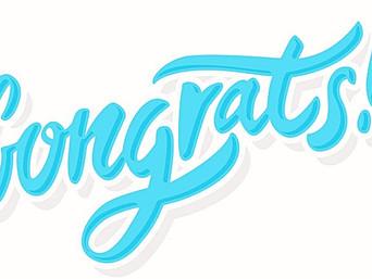 Congratulation Clarence