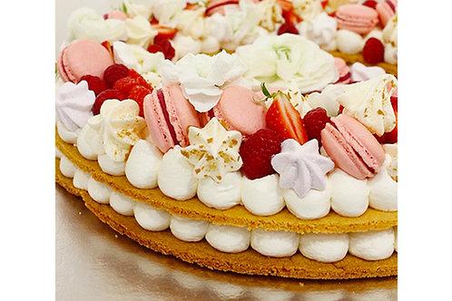 Gâteaux Fleurs - Number Cake