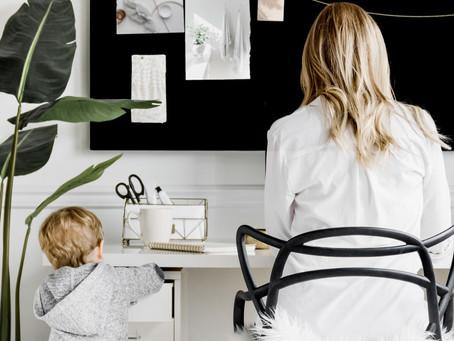 Como gerir a carreira e os filhos durante o trabalho em home office?