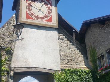 Saint-Prex, cidade medieval na Suíça francesa