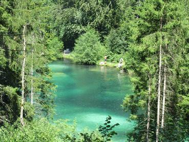 Lago Cresta, na Suiça Alemã