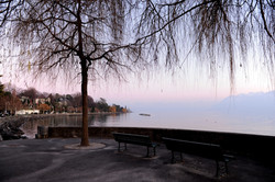 Lausanne e seu lago