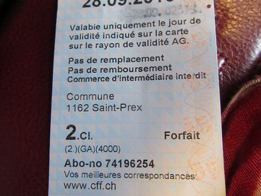 Carte Journalière, barata e conveniente
