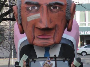 Política e críticas no Carnaval Suíço