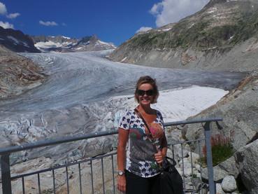 Geleira do Rhone, Glacial do Rhone