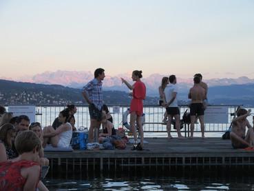 Verão em Zurique, Badi Enge