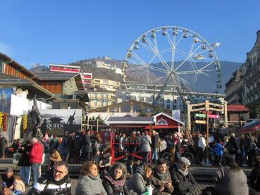 Mercado de Natal de Montreux
