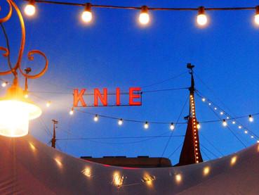 Noite encantada no circo Knie, Suíça