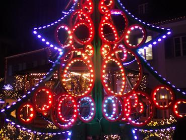 Mercado de Natal na Suíça