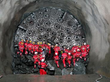 Tunel Gottardo, o maior túnel do mundo