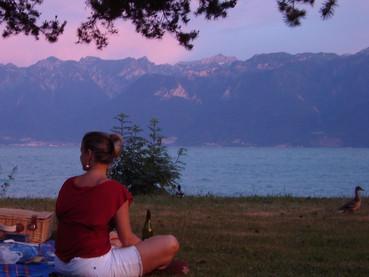 A região do Lago Genebra