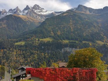 As cores do Outono na Suíça