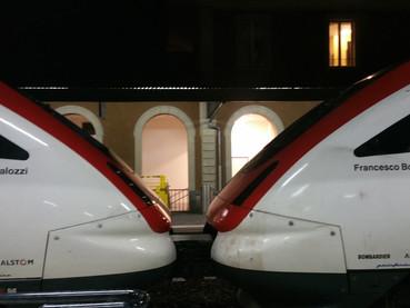 Dicas de como andar de trem na Suíça