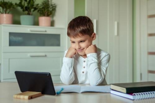 tablet homeschool laptop ergonomics comfort posture student