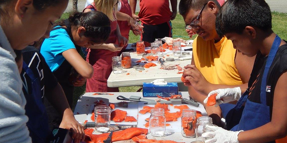 Youth Traditional Foods Preservation Program