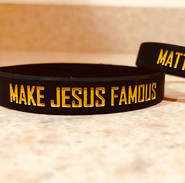 Make Jesus Famous Wristband