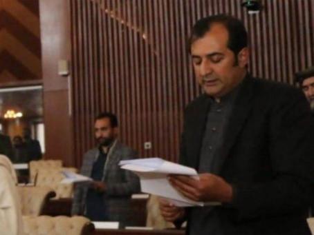 خالد خورشید ایڈووکیٹ نے وزیراعلیٰ گلگت بلتستان کے عہدے کا حلف اٹھا لیا