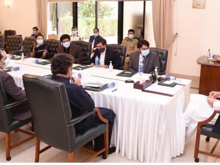وزیرِاعظم عمران خان کی زیر صدارت ملک میں انفارمیشن ٹیکناجی کے فروغ کے حوالہ سے اجلاس