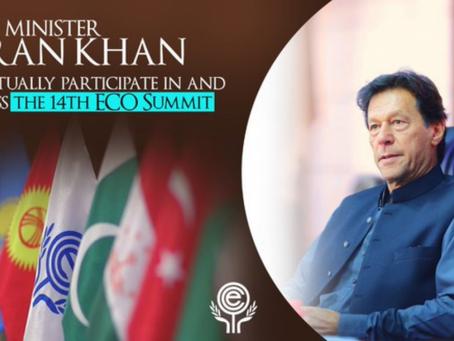 وزیر اعظم عمران خان ورچوئلی شرکت کرتے ہوئے ای سی او سربراہ کانفرنس کاجمعرات کو آغاز کریں گے