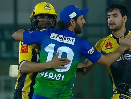 ایچ بی ایل پی ایس ایل سیزن 6،پشاور زلمی نے ملتان سلطانز کو 6 وکٹوں سے شکست دے دی