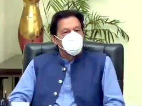 وزیراعظم عمران خان کی قیادت میں  قومی رابطہ کمیٹی برائے کوویڈ-19 کا اجلاس