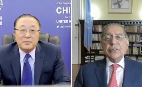 پاکستان کی چین کو اقوام متحدہ کے شیڈول سے 10 سال پہلے غربت کے خاتمے کے ہدف کے حصول پر مبارکباد