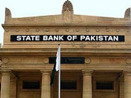 سٹیٹ بینک آف پاکستان نے قرضوں کے اصل زر کی 657.16ارب روپے کی وصولی ایک سال کے لیے موخر کردی