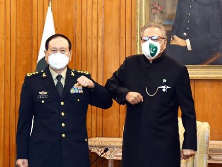 چین کے ساتھ دوستی پاکستان کی خارجہ پالیسی کا اہم ستون ہے ،صدرمملکت