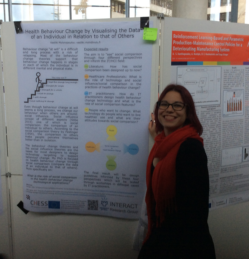 Picture from the MCAA conference next to my poster