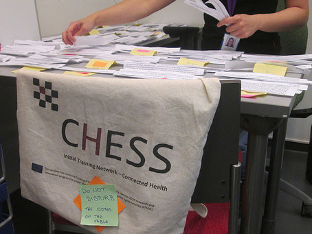 Dyslectic's lessons: A Marie-Curie ITN Funded CHESS Experience