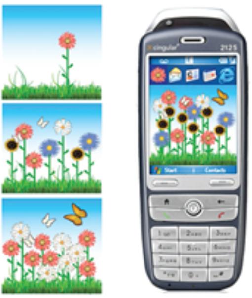 mobile app of Ubifit garden reference 4