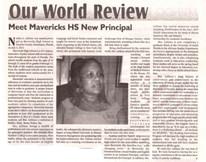 Write up on Dr. Nads in Haiti Progress Magazine