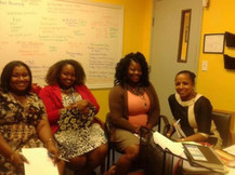 Mentees of Women on a Mission mentoring program