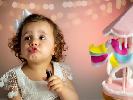 Porque é essencial fotografar seu bebê todo mês?