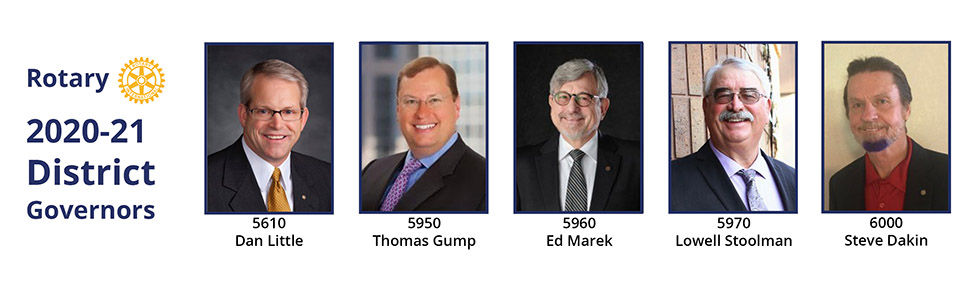 NC PETS Banner District Governors 2020-2
