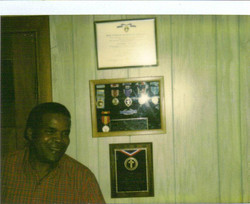 BET and his medals