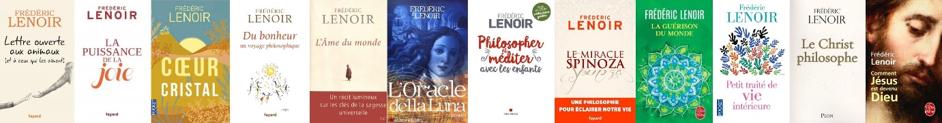 livres de frédéric lenoir