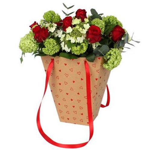 Bouquet con bag