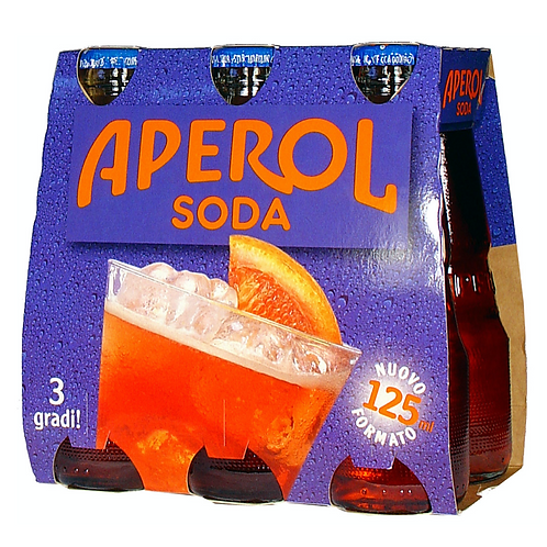 Aperol soda 12.5clx6