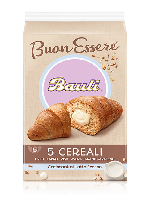 Bauli croissant 5 cereali x6 240 gr