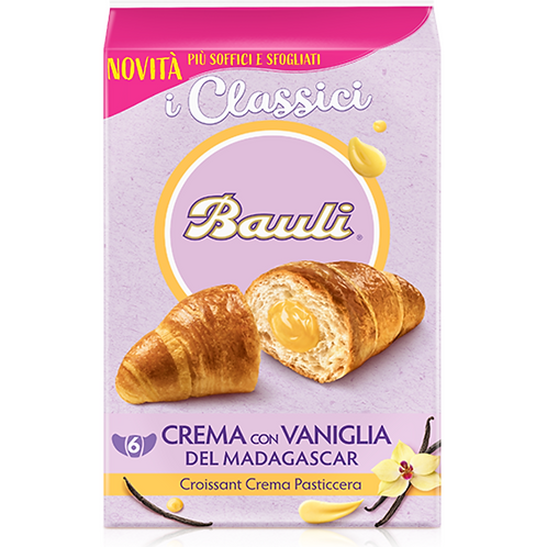 Bauli croissant crema x6 300 gr