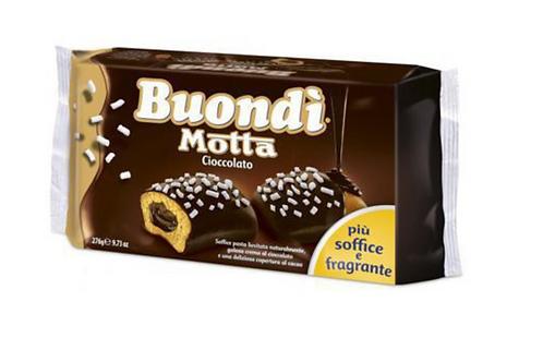 Buondi' ricoperto cioccolato x6 276 gr