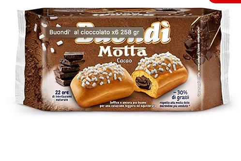 Buondi' al cioccolato x6 258 gr