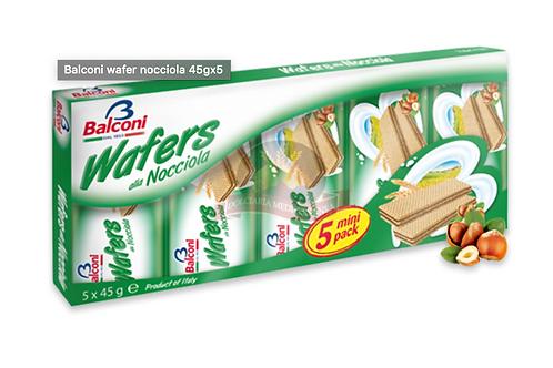 Balconi wafer nocciola 45gx5