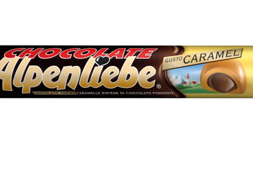 Alpenliebe caramelle 70% cacao stick 38 gr