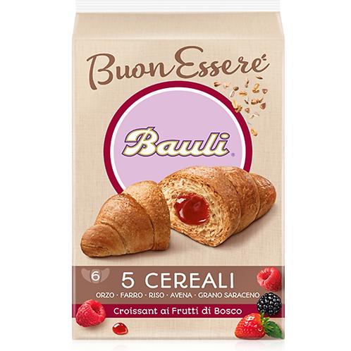 Bauli croissant 5 cereali frutti di bosco 240 gr