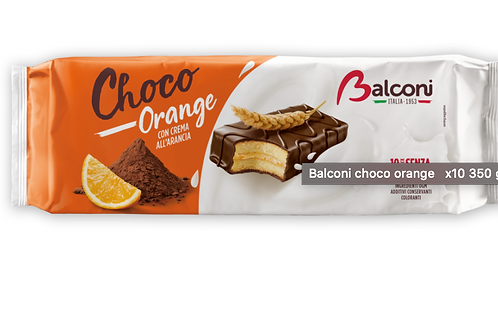 Balconi choco orange x10 350 gr