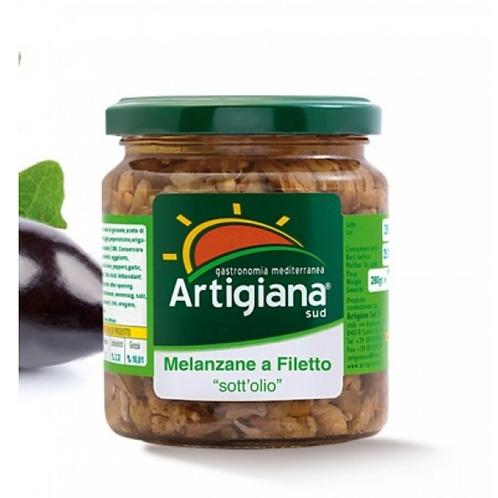 Artigiana sud melanzane a filetto 280 gr