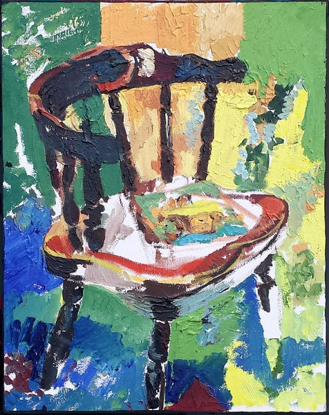 Vincent on the Chair
