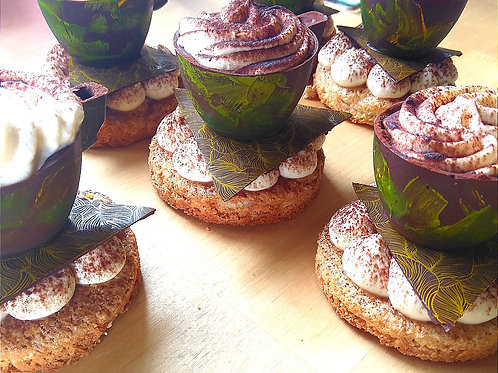 Tiramisu Chocolate Cups